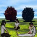 Twelve Trials of Triskelion Week 8: Fabulous Fanart: Relaxing on the Grassland planet of Arronia 2